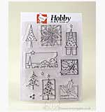 Clear Stamps - Scene-Its - Decorative Christmas Set