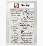 Clear Stamps - Christmas Sentiments