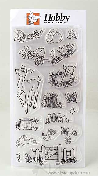 Clear Stamps - Fawn and Flora