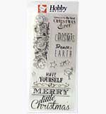 Merry Little Christmas (Hobby Art Clear Stamps)