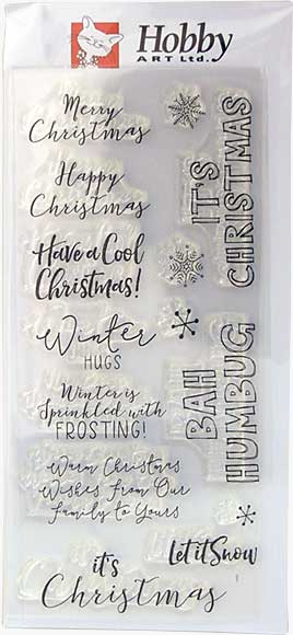 Christmas Frosting (Hobby Art Clear Stamps)