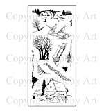 Hobby Art Stamp Set - Farmhouse Scene-it