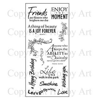 Hobby Art Stamp Set - Sunny Day Greetings