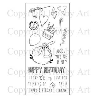 Hobby Art Stamp Set - Thinking of Ewe