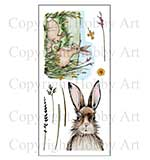 Hobby Art Stamp Set - March Hares