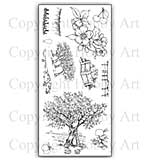 Hobby Art Stamp Set - Orchard