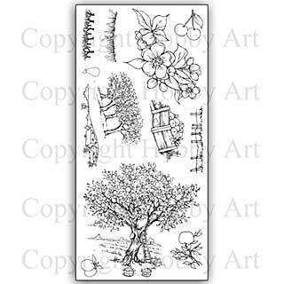 Hobby Art Stamp Set - Orchard