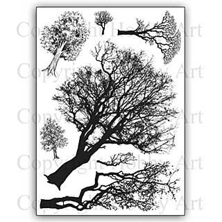 SO: Hobby Art Stamp Set - Tree Set