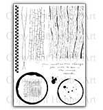 Hobby Art Stamp Set - Becki's Backgrounds