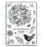 Hobby Art Stamp Set - Nature's Song