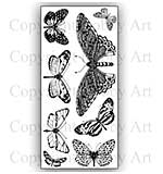 Hobby Art Stamp Set - Janie's Butterflies