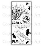 SO: Hobby Art Stamp Set - Take Flight