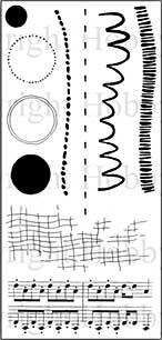 SO: Hobby Art Clear Stamp Set - Set the Scene