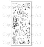 SO: Hobby Art Clear Stamp Set - Coastal Walk