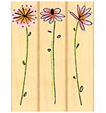 Hero Arts - Pocketful o Posies - Fanciful Posies