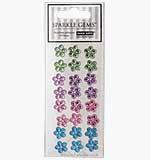 Sparkle Gems - Self Adhesive Medium Blossom Flowers