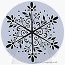Cling - Big Snowflake