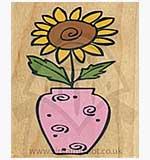 Sunflower Vase [D]
