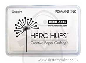 Hero Hues Pigment Ink Pad - Unicorn