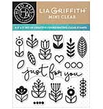 SO: PRE: Hero Arts Clear Stamps By Lia 3x3 - Just For You