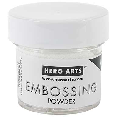 Hero Arts Embossing Powder - White