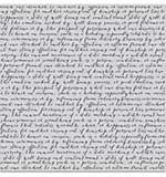 Hero Arts Cling Stamps - Script Bold Prints