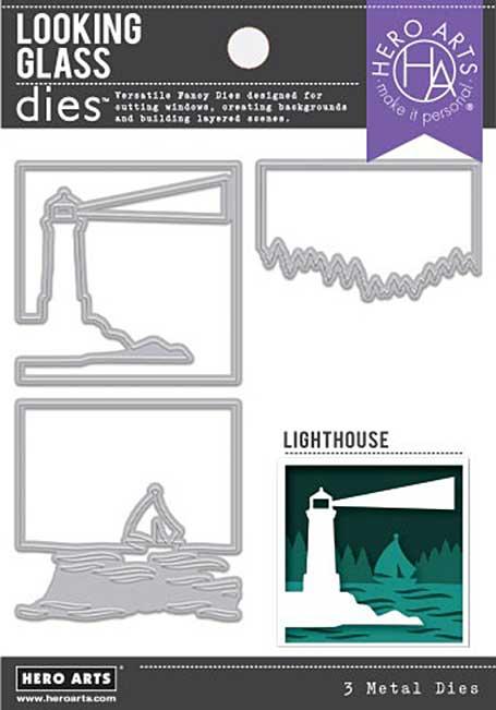 Hero Arts Fancy Dies - Looking Glass Lighthouse
