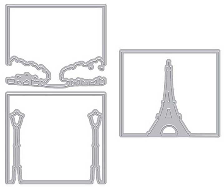 Hero Arts Fancy Dies - Looking Glass Paris