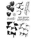 Hero Arts Color Layering Clear Stamps - Strawberries (4x6)