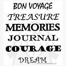 Stick n Stamp set - Bon Voyage