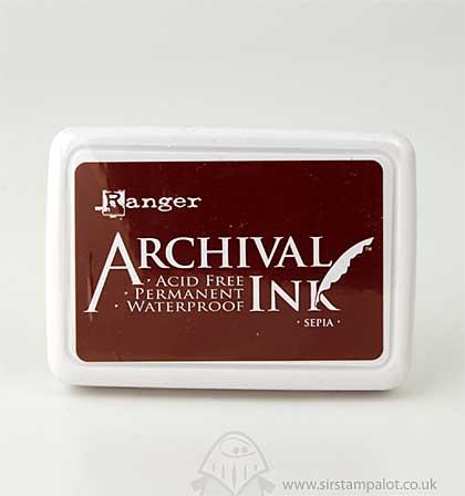Archival Inkpad - Sepia [AIP06657]