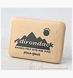 SO: Adirondack Dye Ink Pad - Pitch Black ( Raised Felt)