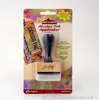 SO: Adirondack Alcohol Ink Applicator - Stamp Handle with 10 Felts
