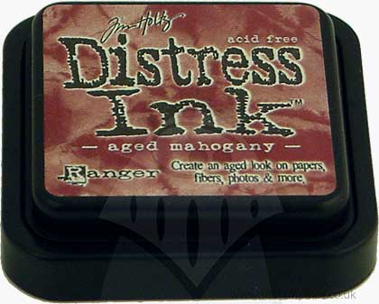 SO: Tim Holtz Distress Ink Pad - Aged Mahogany