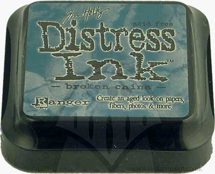 SO: Tim Holtz Distress Ink Pad - Broken China