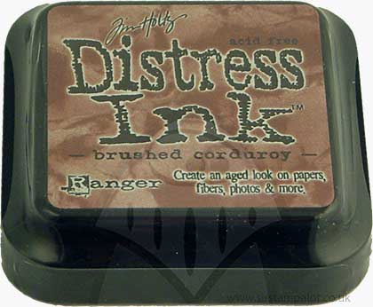 SO: Tim Holtz Distress Ink Pad - Brushed Corduroy