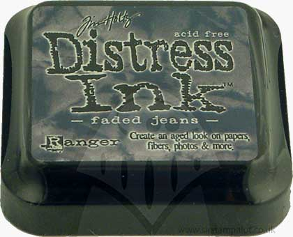 SO: Tim Holtz Distress Ink Pad - Faded Jeans