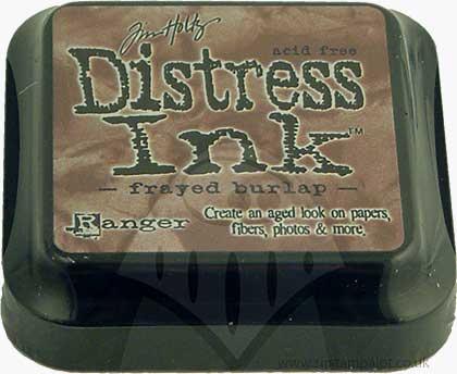 SO: Tim Holtz Distress Ink Pad - Frayed Burlap