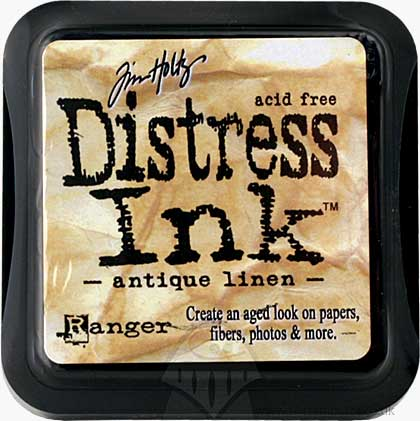 SO: Tim Holtz Distress Ink Pad - Antique Linen
