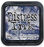 SO: Tim Holtz Distress Ink Pad - Chipped Sapphire