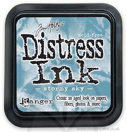 SO: Tim Holtz Distress Ink Pad - Stormy Sky