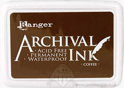Archival Ink Pad - Coffee