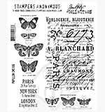 SO: Tim Holtz EZ Mount Stamp Set - Papillons