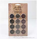 Tim Holtz Idea-ology - Muse Tokens - Christmas