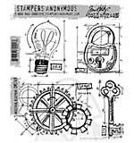 SO: Tim Holtz EZ Mount Stamp Set - Industrial Blueprint