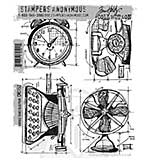 SO: Tim Holtz EZ Mount Stamp Set - Vintage Things Blueprint