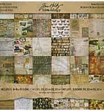 SO: Tim Holtz 8x8 Paper Stash Pad - Mini Collage