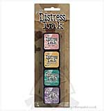 Tim Holtz Mini Distress Ink Pad Kit #4