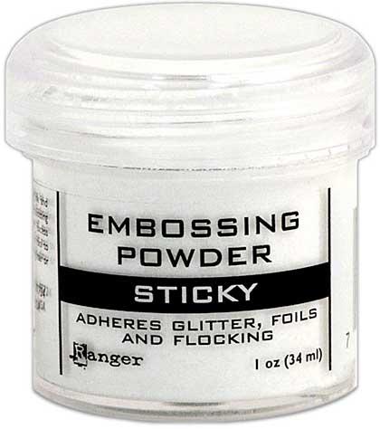 SO: Sticky Embossing Powder 1oz