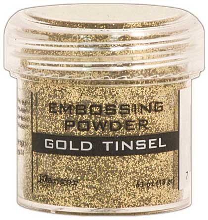 SO: Embossing Powder .63oz Jar - Gold Tinsel